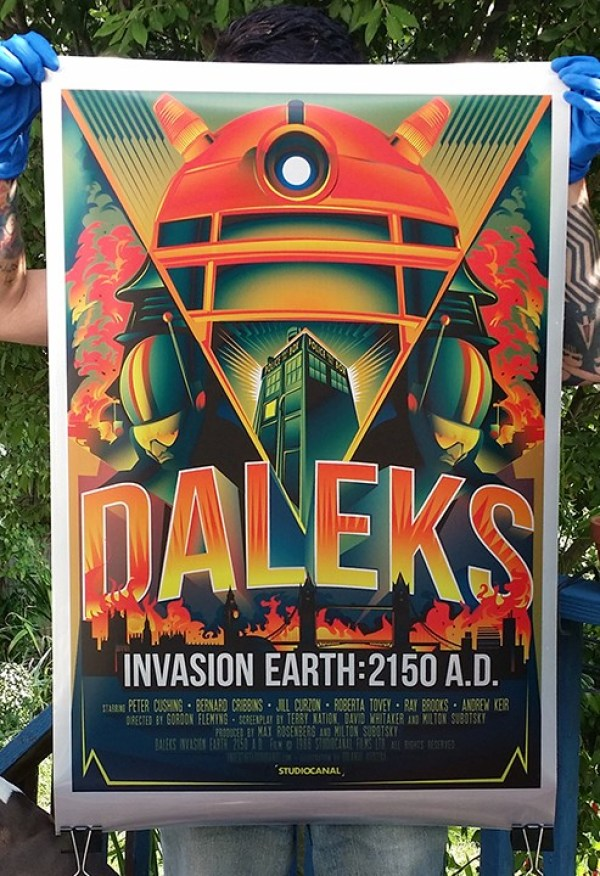DOCTOR WHO's Daleks Invade in This Poster