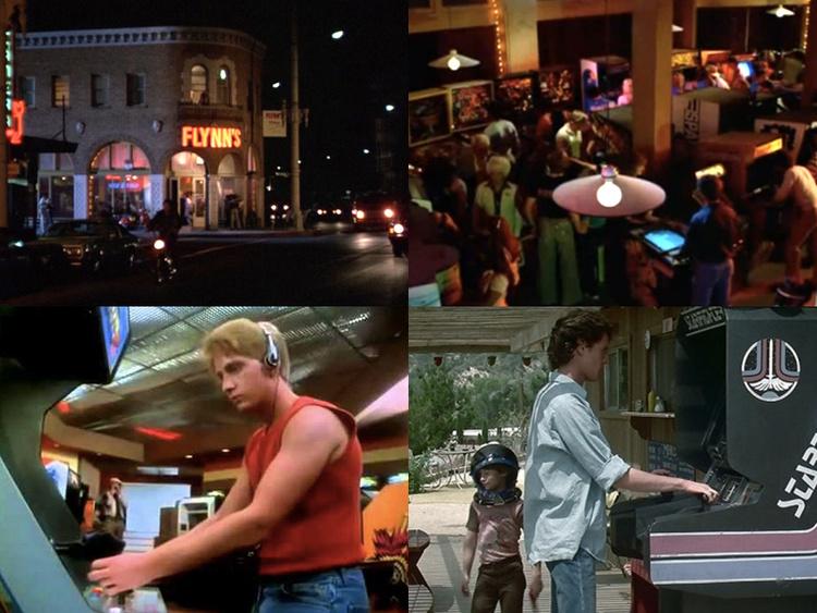 Arcades in Movies Supercut