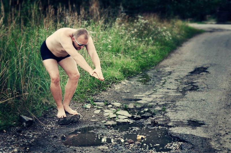 Brilliant Campaign Against City's Pothole Problem