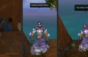 Tribute To Robin Williams in World of Warcraft