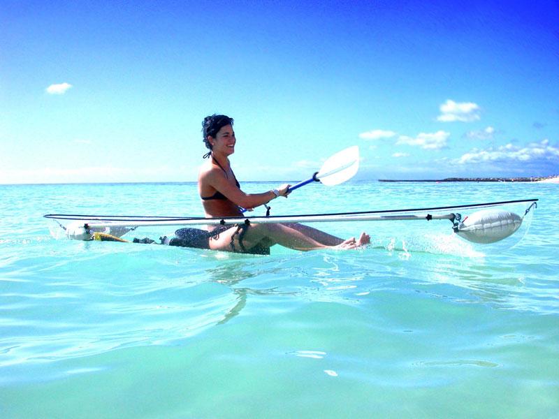 The Transparent Kayak