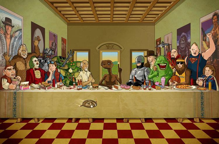 The 80's Last Supper