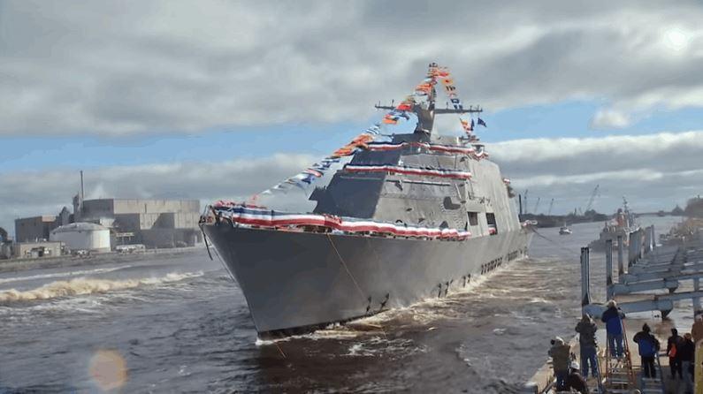 378 ft USS Detroit