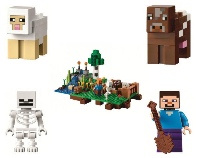New Lego Minecraft Sets