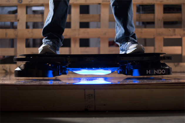 Real-Life Magnetic Field Hoverboard