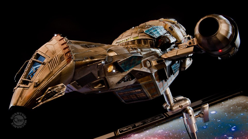 Replica Model of Serenity from FIREFLY