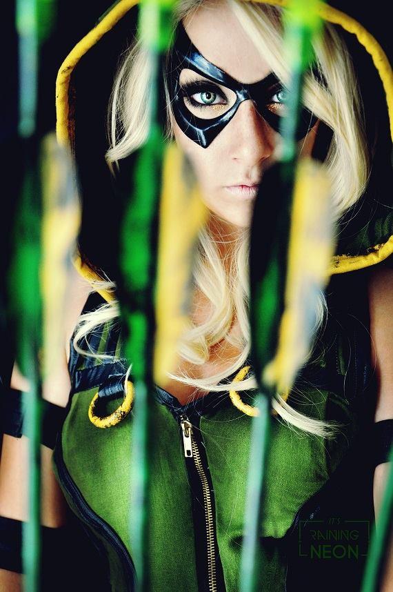 Lady GREEN ARROW Cosplay