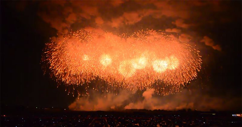 japan largest Fireworks