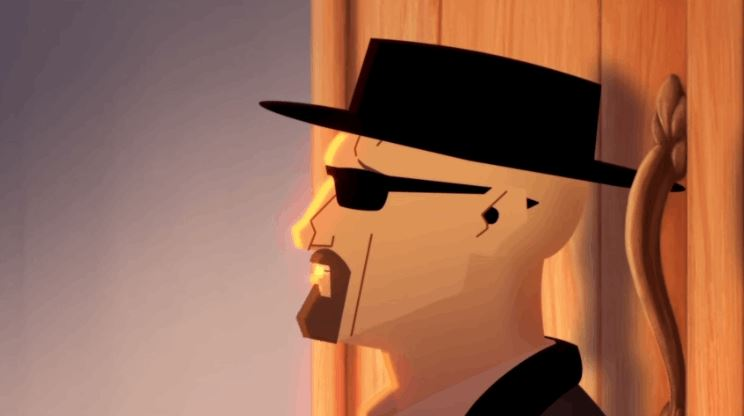 Animated BREAKING BAD and FROZEN Parody