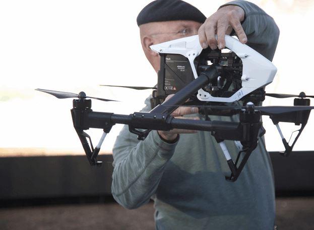Inspire 1 Transforming Drone