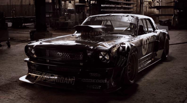 Ken Block in Custom 845 hp AWD '65Mustang (4)