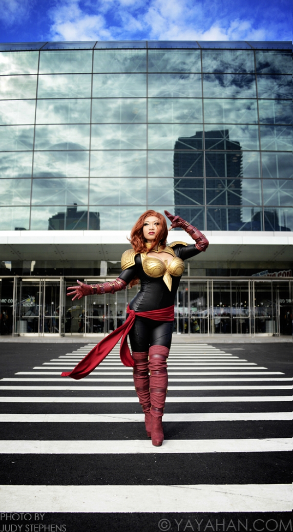 Marvel Avengers Alliance Phoenix Force Cosplay