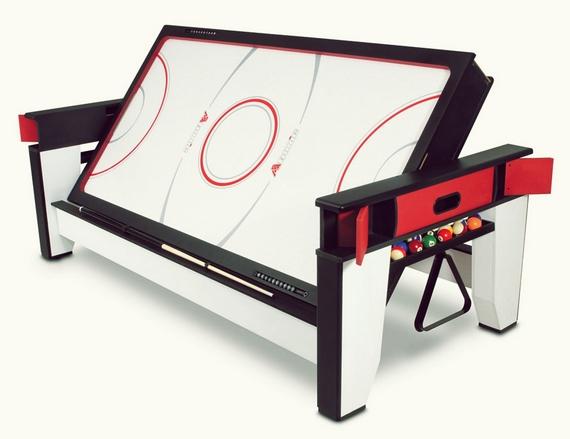 Rotating Air Hockey And Billiards