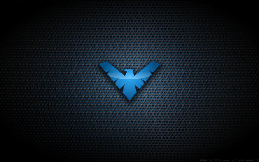wallpaper___nightwing__tnba__logo_by_kalangozilla-d5xiog7