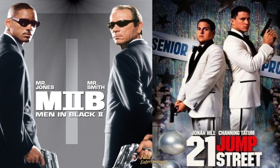 21 JUMP STREET and MEN IN BLACK Crossover Movie By Sony