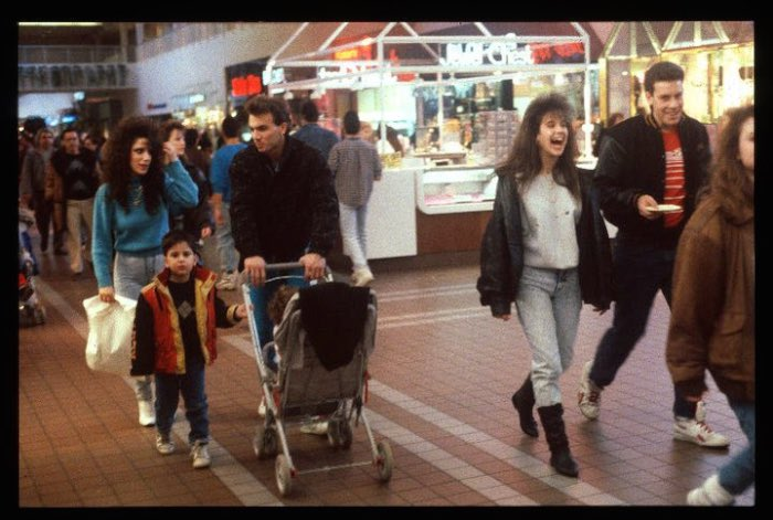 American Malls in The 80s