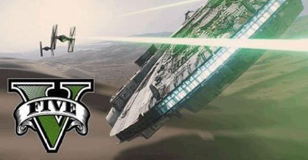 Fans Recreated The Star Wars Trailer In GTA V