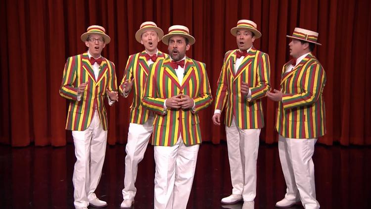 "Jimmy Fallon's Ragtime Gals Sing ""Sexual Healing"""