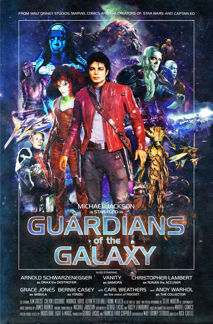 Michael Jackson as star lord