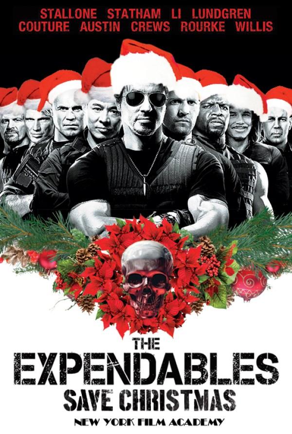 The-Expendables-Save-Christmas-logo