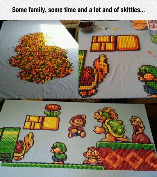 funny-skittles-Super-Mario-painting-1