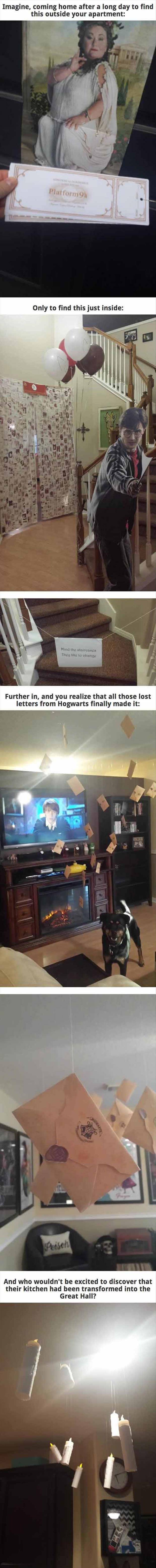 One Disturbing Harry Potter Party!