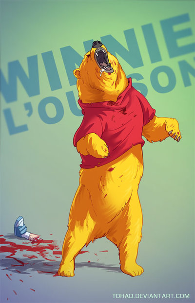 Winnie The Poooh badass cartoons