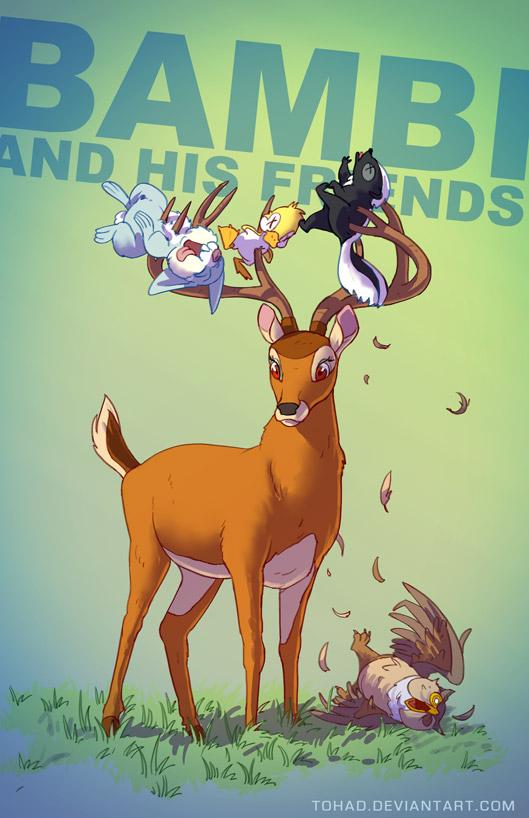 Bambi badass cartoons