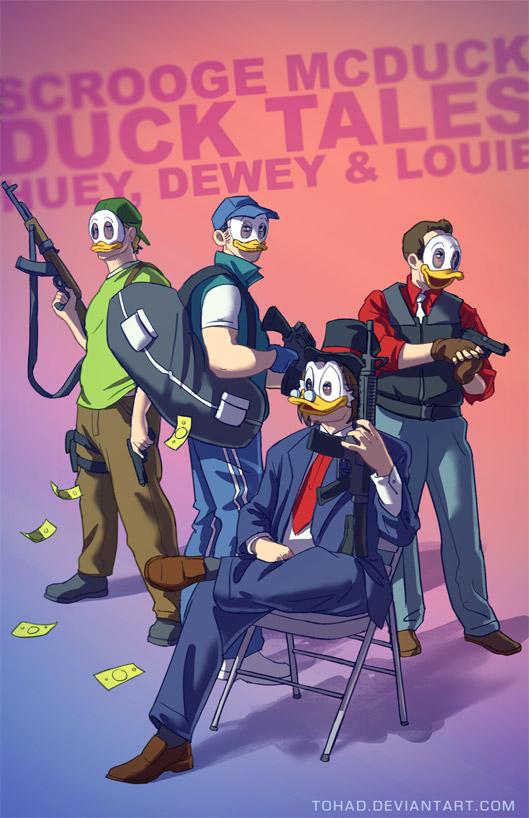 Duck Tales badass cartoons