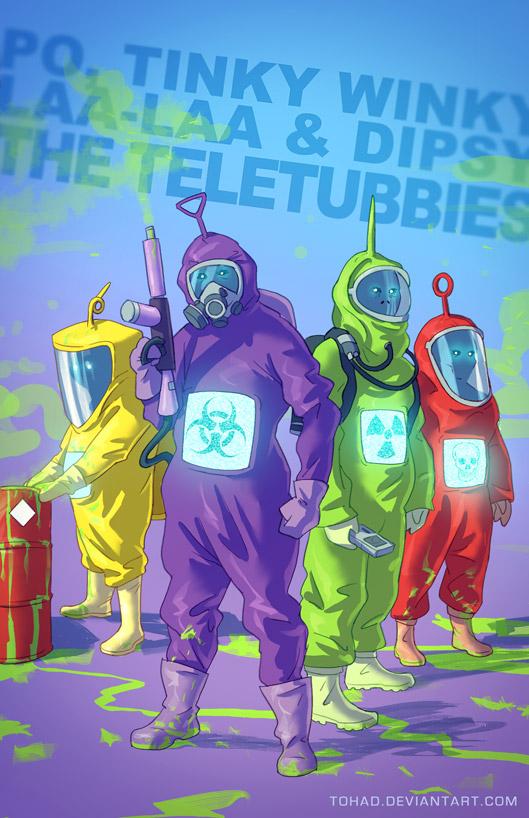 TeleTubbies badass cartoons