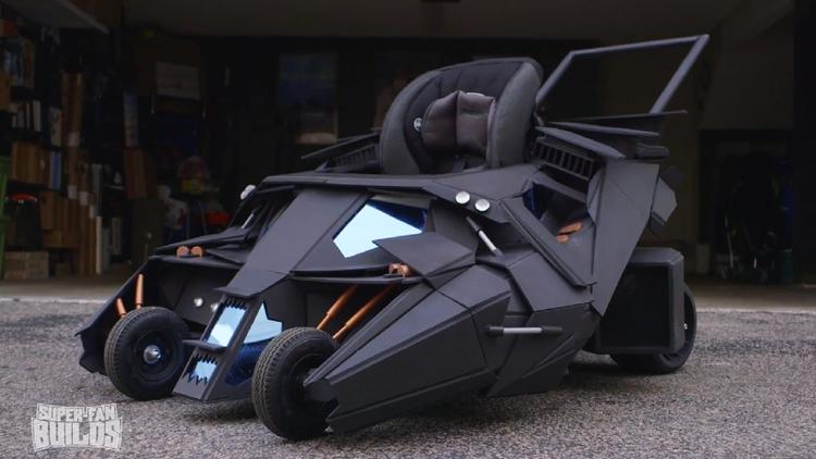 Batman's Tumbler Batmobile Stroller