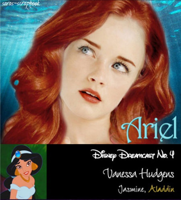 Disney Princesses Played By Today's Actresses