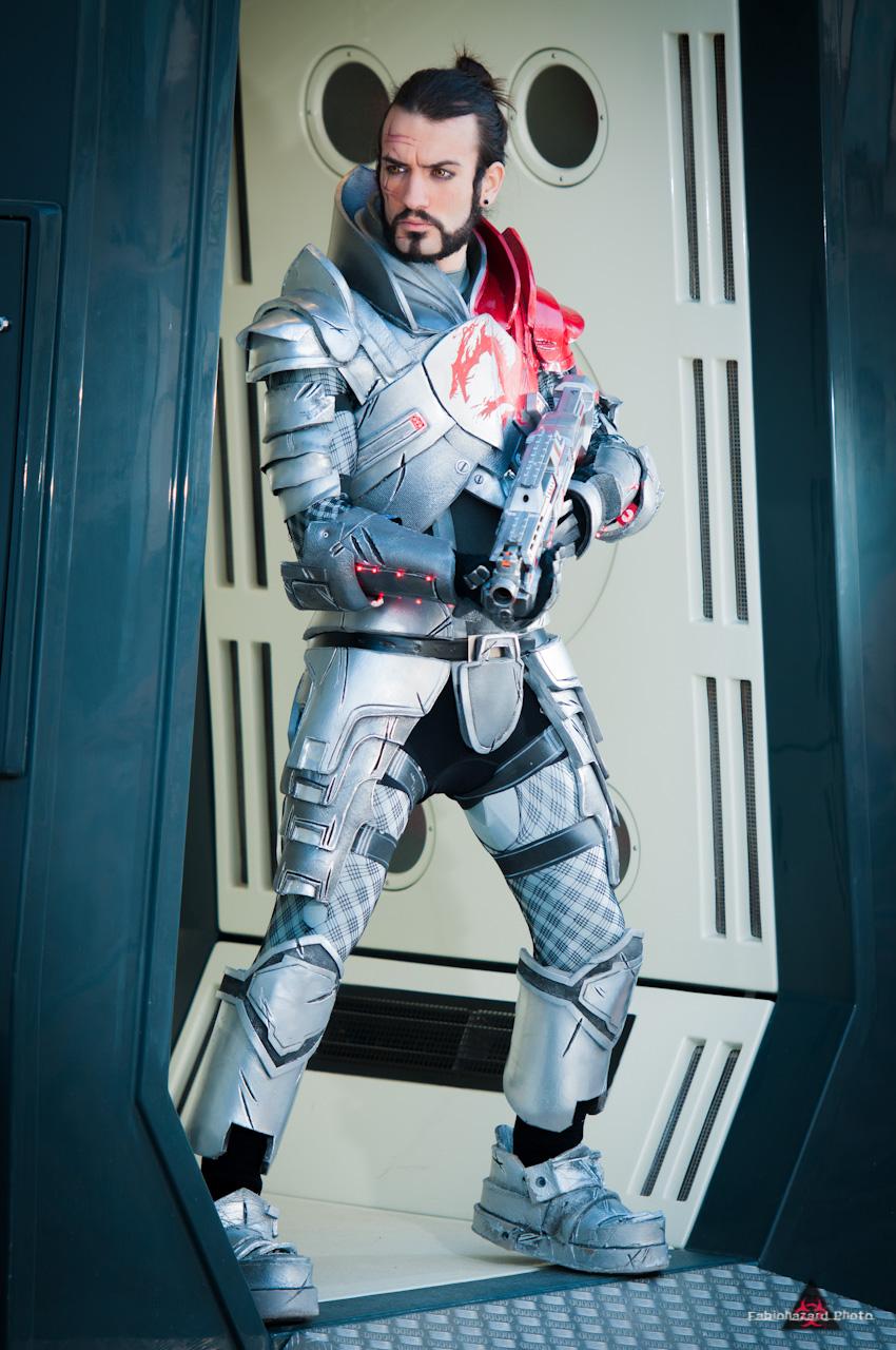 MASS EFFECT Blood Dragon Armor Cosplay
