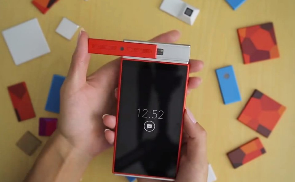 Project Ara Modular Smartphone