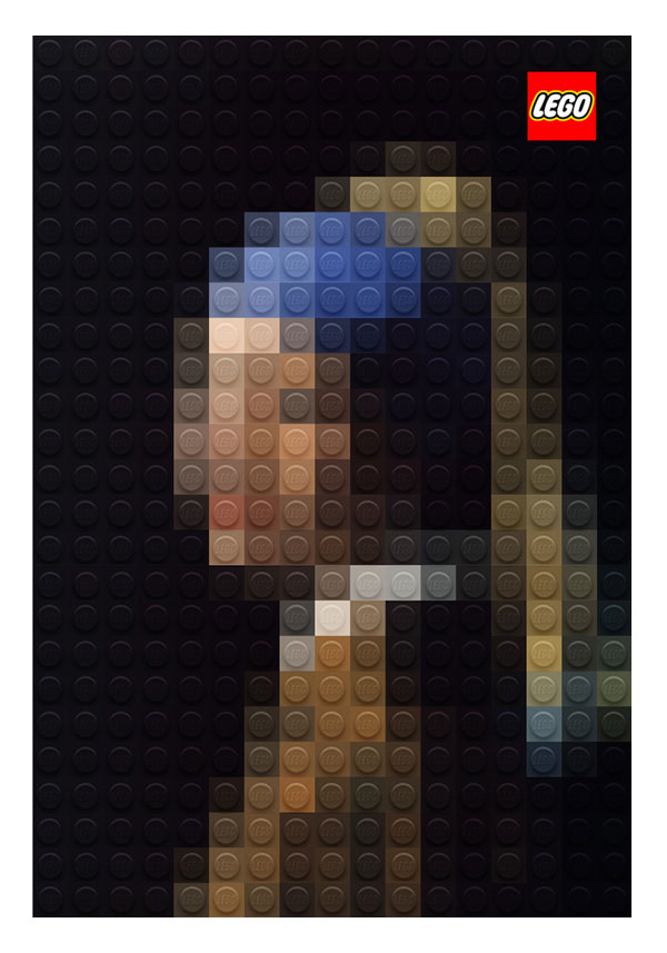 Brilliant Lego Versions Of Famous Paintings