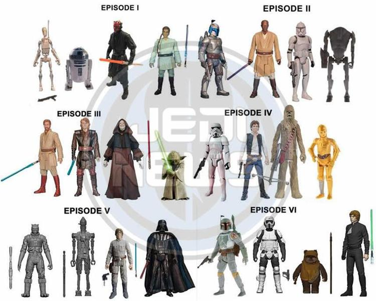 STAR WARS Toys Coming Out This Year