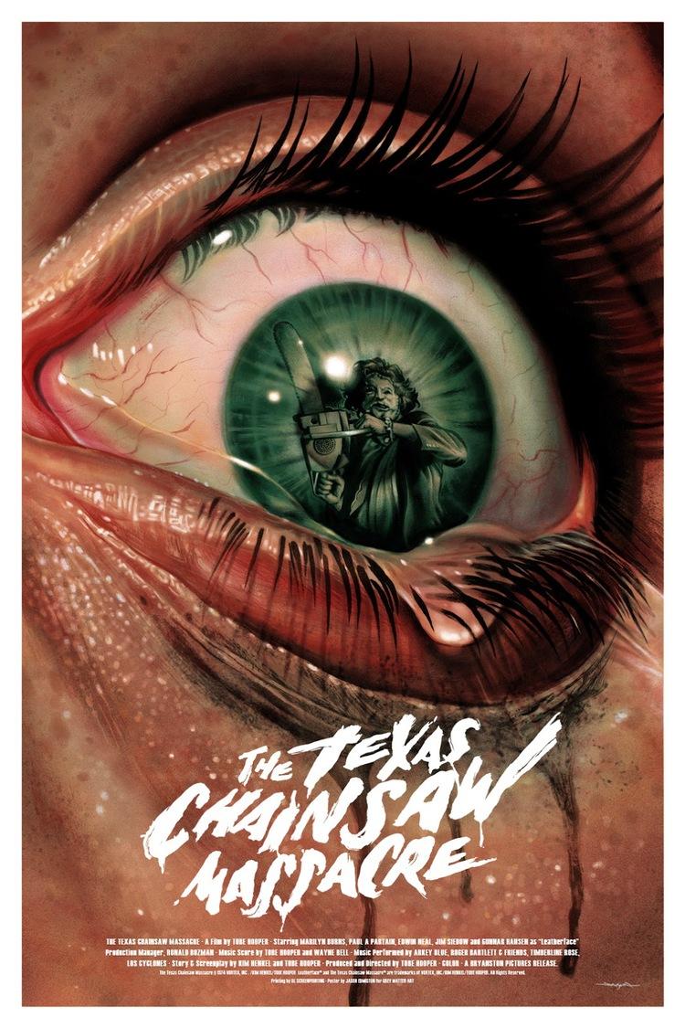 THE TEXAS CHAINSAW MASSACRE Fan Art Poster