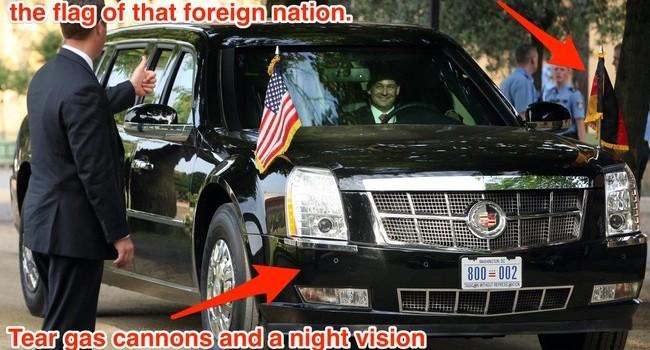 Technology Inside President Obama's Ride