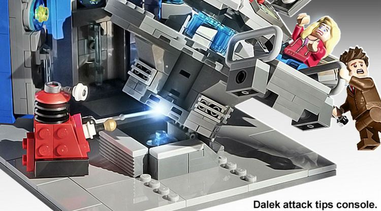 DOCTOR WHO Playset Announced By LEGO