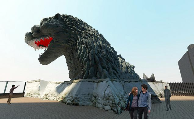 Check Out This Cheap GODZILLA-Themed Japanese Hotel
