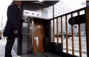 Inside Japan's Automated, Underground Bike Locker