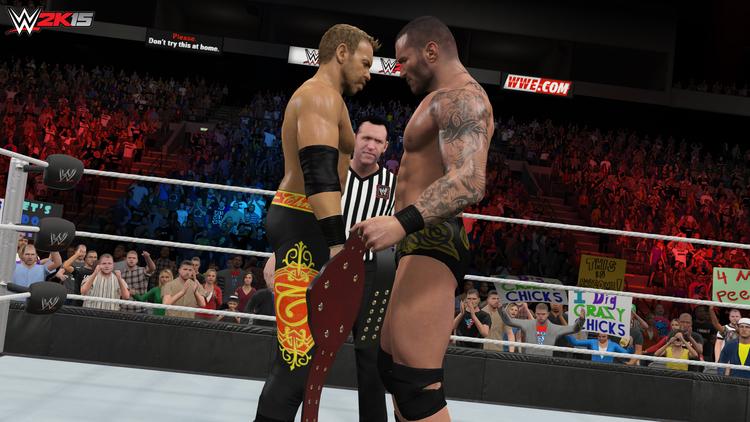 WWE 2K15 One More Match