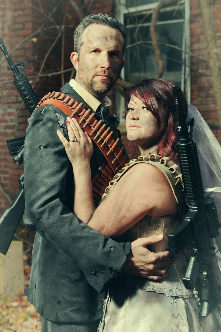 Post-Apocalyptic Engagement Photos