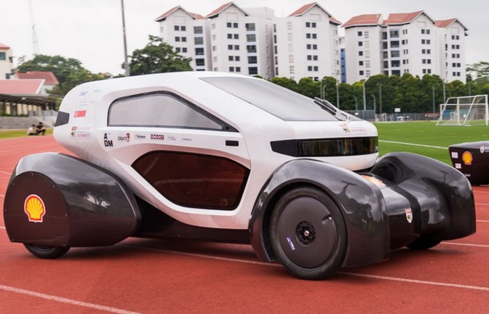 3D Printed Solar Powered Vehicles Created By Students