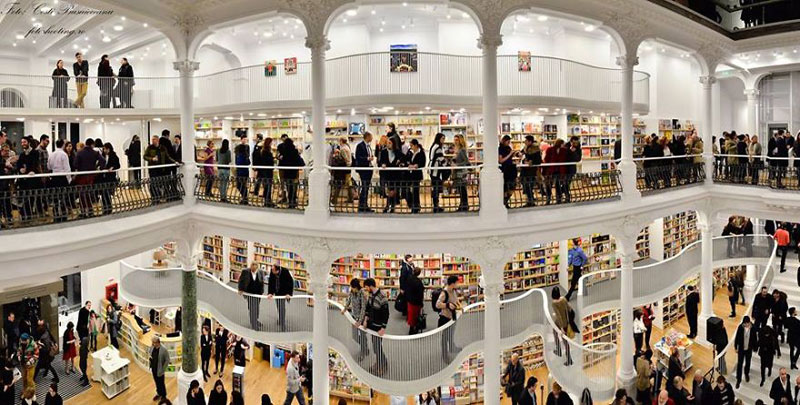 Bucharest Bookstore Opens in Stunning 19th Century Building