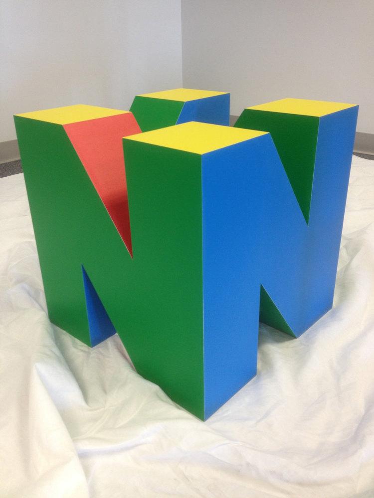 Nintendo 64 Logo Table Base