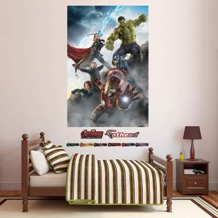 Avengers: Age of Ultron Promo Art And Wall Decals