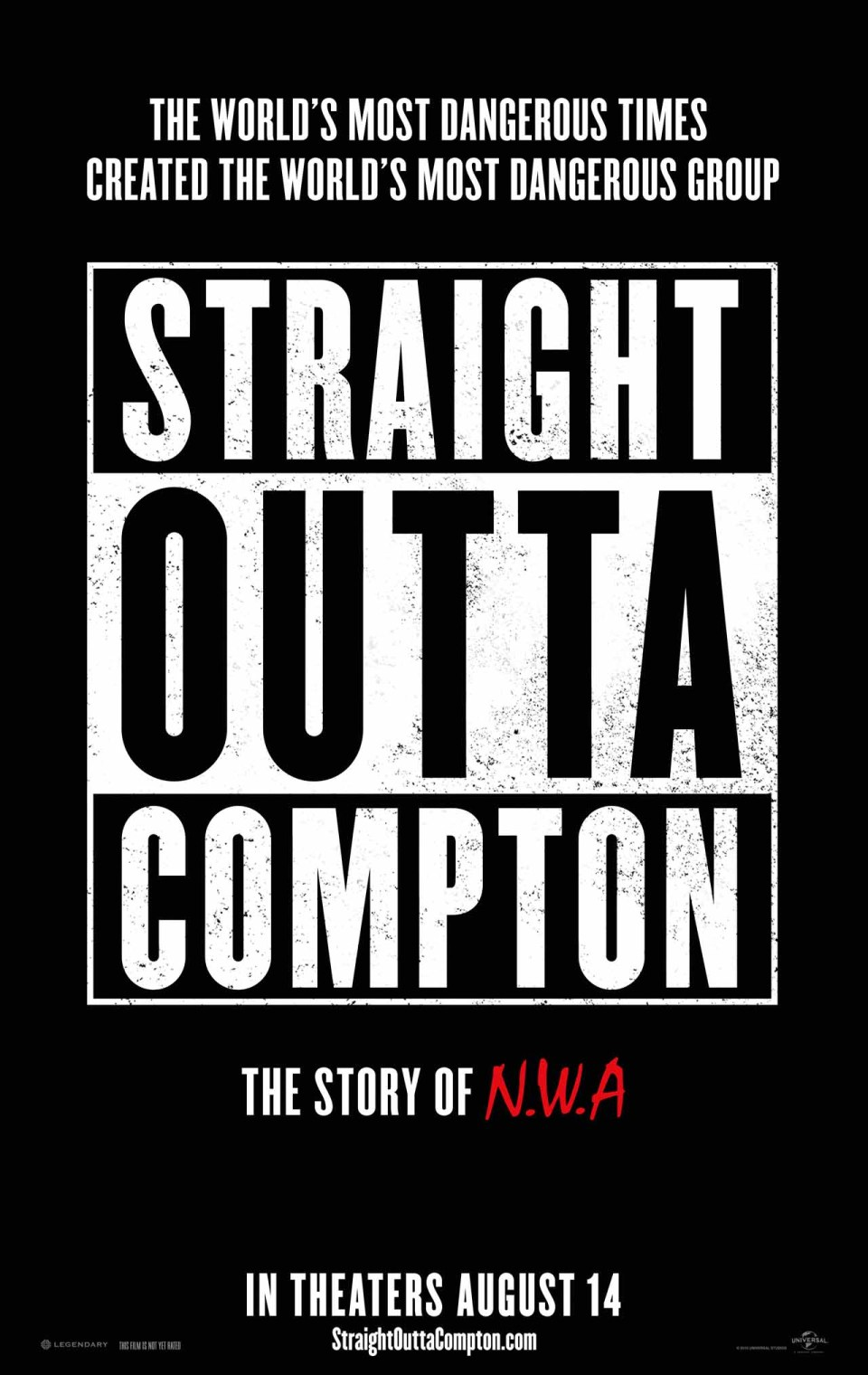 Poster and Red Band Trailer For Straight Outta Compton