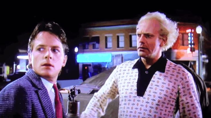Back To The Future Deleted Mildly Disturbing Hugely Funny Clip