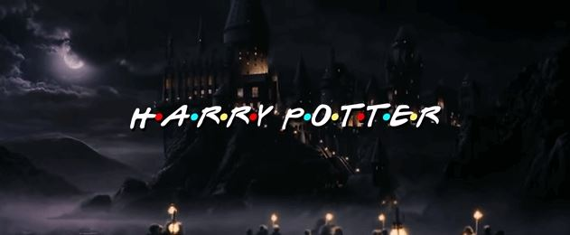 Friends Harry Potter Edition